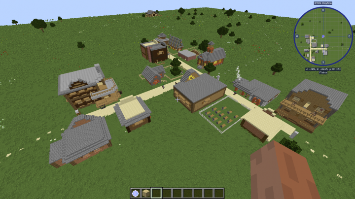 western map questing Minecraft Project