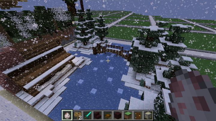 Winter landscape by igotanameforya