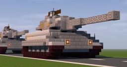 Panzerkampfwagen VI Tiger II Minecraft Map & Project