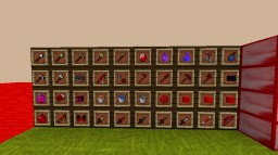 BluePack v2  theme red for rush and UHC [No lag] Minecraft Texture Pack