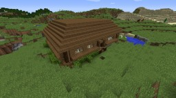Simple MC wooden house Minecraft Map & Project
