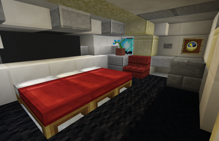 Naboo J-type diplomatic barge | Star Wars Minecraft Project
