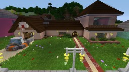 Rick and Morty neighborhood Minecraft Map & Project