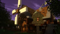 Windmill - Town Project Minecraft Map & Project