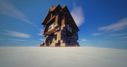 A realistic Medieval House ! Minecraft Map & Project