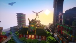 The Ninjago city Minecraft Map & Project