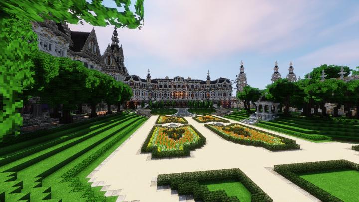 Æonis] - Le Beau Châteauette Minecraft Project
