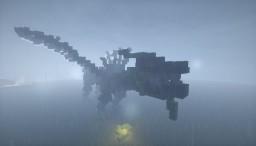 Morro's (Evil green ninja) ghost wind dragon Minecraft Map & Project