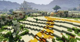 Oasia - A paradise in the desert Minecraft