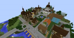 Ravenwood Town Minecraft Map & Project