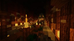 A simple path to the Temple Minecraft Map & Project