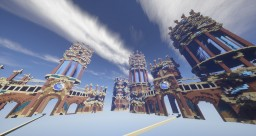 CUSTOM FACTIONS SPAWN SPEED BUILD Minecraft Map & Project