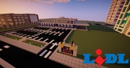 Lidl-Supermarket Minecraft Map & Project