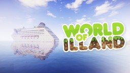 World of ILLAND. Cruise ship Minecraft Map & Project