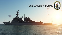 USS Arleigh Burke - DDG 51 Minecraft Map & Project