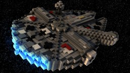 Faucon Millénium - Star wars reproduction ! Minecraft Map & Project