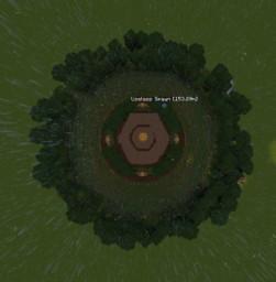 Jungle Themed Portal Hub Minecraft Map & Project