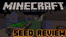 ZOMBIE VILLAGE SEED!!!! OMG Minecraft Map & Project