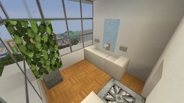 One of the bathrooms in 2F-6F. Nice lookin' sink.
