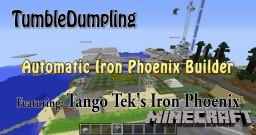 Iron Phoenix Auto Builder (Iron Phoenix designed by Tango Tek) Minecraft Map & Project