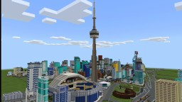 Toronto - CN Tower Minecraft