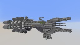 RSI Orion Mining Platform Minecraft Map & Project