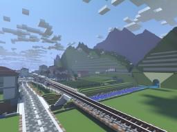 Rural Train Station Minecraft