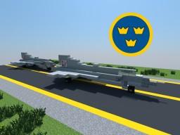 Saab 35 Draken Minecraft