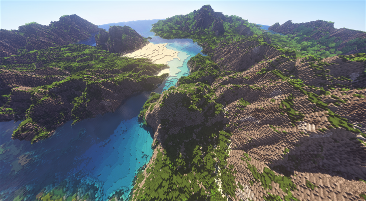 Original Render of Anglesey with Ebin Shader