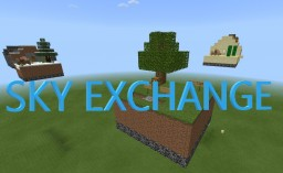 Sky Exchange (Bedrock Edition Only) Minecraft Map & Project