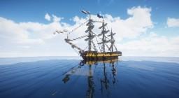 Shtandart (Russian frigate) Minecraft Map & Project
