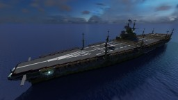 Fictional Japanese Aircraft Carrier - Ginryū (銀竜) Minecraft