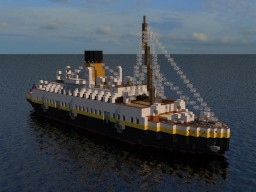 WSC : SS Nomadic Minecraft Map & Project