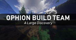 A Large Discovery Minecraft Map & Project