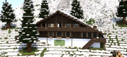 Murren | Swiss Chalet Minecraft