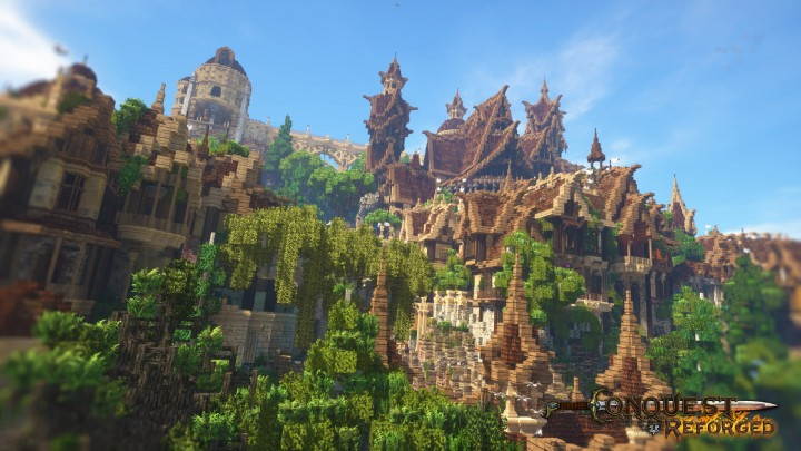 The peaks of the palace overlook the harmony of civilization and nature.