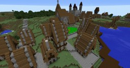 Boromir Village Re-Created(Download available) Minecraft
