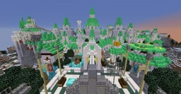 Runescape - Prifddinas in Minecraft (by me7176) Minecraft Map & Project