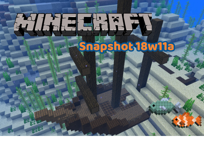 Popular Blog : Minecraft Snapshot 18w11a | Shipwrecks, The Drowned and Coral Additions