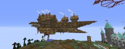 The Aurora Airship Minecraft Map & Project