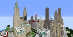 City project - Central Midervik Minecraft