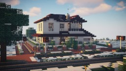 Lower Saxony House Style /w 3D-Recourcepack Minecraft Map & Project