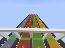 SK Lucky Race! Minecraft Map & Project