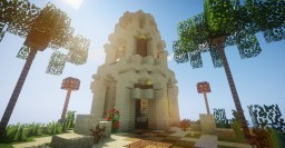 Egyptian lighthouse Minecraft Map & Project