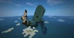 Attack of the kraken Minecraft Map & Project