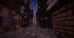 ☛ Diagon Alley [Harry Potter] Minecraft Map & Project