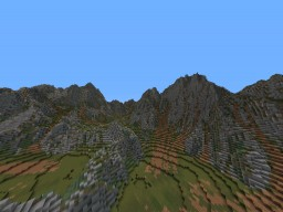 mountain range area Minecraft Map & Project