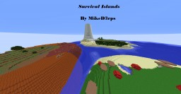 Survival Islands Minecraft Map & Project