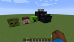 Making Giant Mob Heads Minecraft