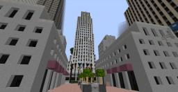 Rockfeller Center Minecraft Map & Project
